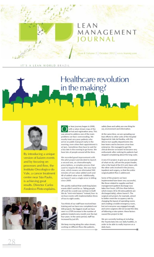 IOV no Lean Management Journal - UK