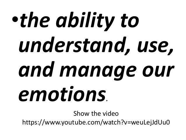 EMOTIONS module 5