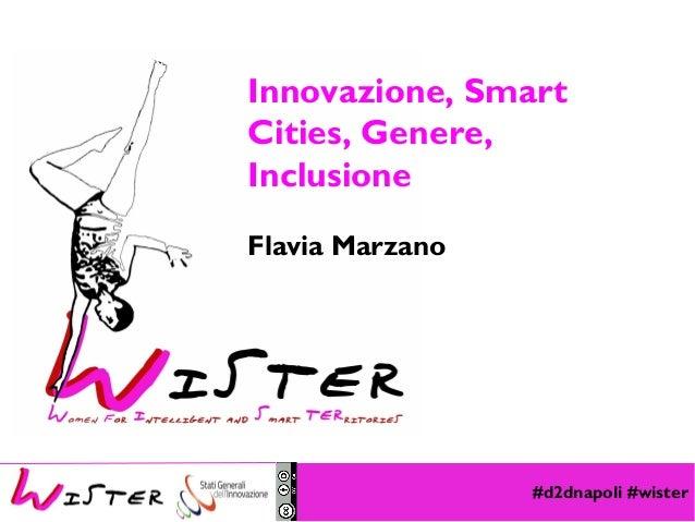 #d2dnapoli #wister Foto di relax design, Flickr Innovazione, Smart Cities, Genere, Inclusione Flavia Marzano