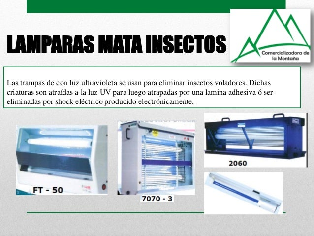 L mparas insecticidas y germicidas alonso hern ndez sac udca for Luz uv para estanques