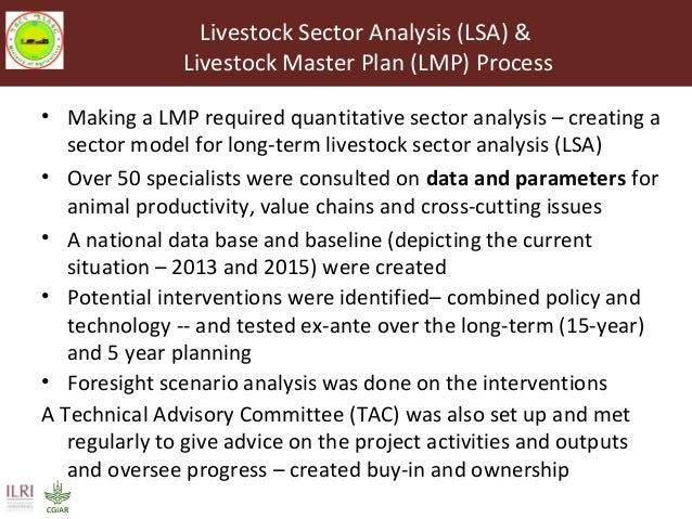 Livestock Master Plan (LMP): Roadmaps for the Ethiopia Growth and Transformation Plan (GTP II—2015-2020) Slide 2