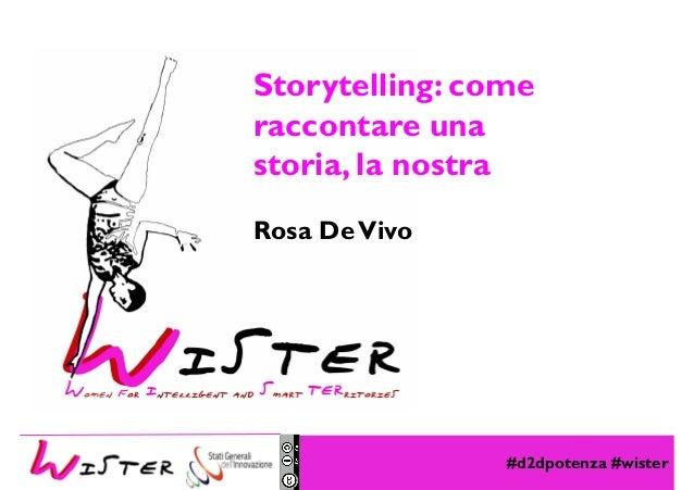 #d2dpotenza #wister Foto di relax design, Flickr Storytelling: come raccontare una storia, la nostra Rosa DeVivo