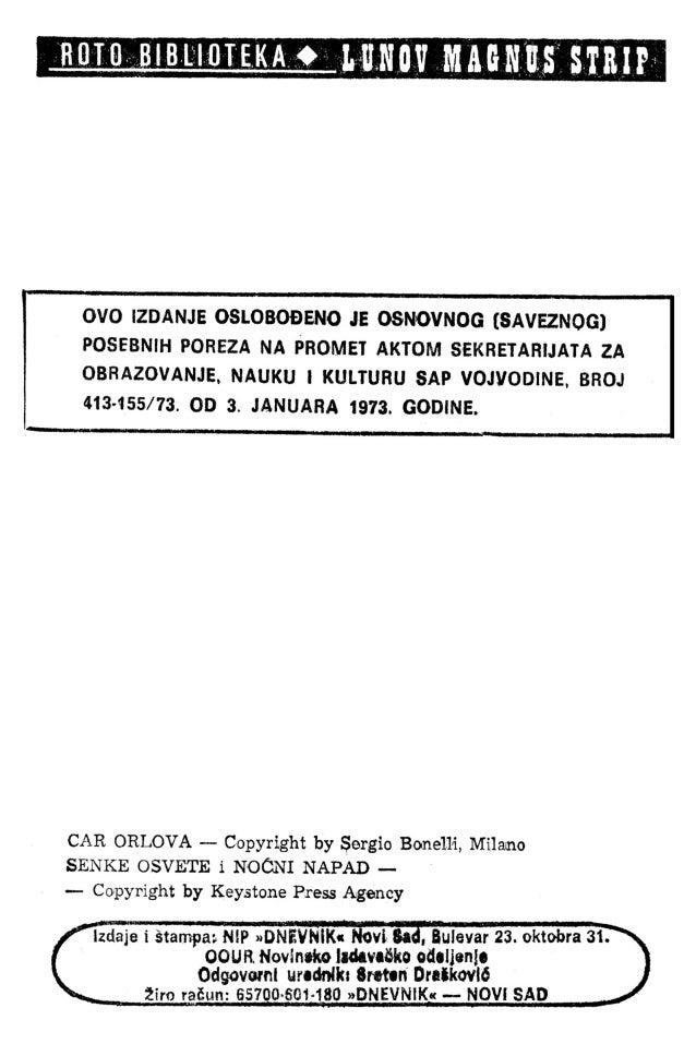 LMS 123 - Zagor - Car orlova Slide 3