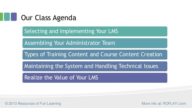 LMS Success: Steps to Implement and Administer Your Learning Management System Slide 3