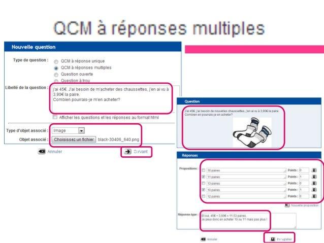Les notes  Pratique en tant que consigne par exemple, ou parenthèse quant à l'objectif du parcours, utile pour rappeler q...