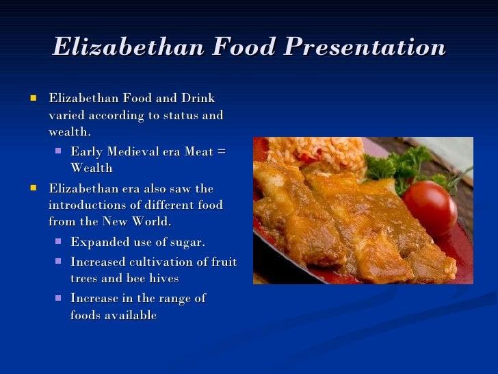 Food Of The Elizabethan Era Recipes