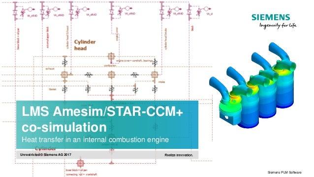 lms amesim star ccm co simulation \u2013 heat transfer in an internal com\u2026 Combustion Reaction Diagram lms amesim star ccm co simulation \u2013 heat transfer in an internal combustion engine
