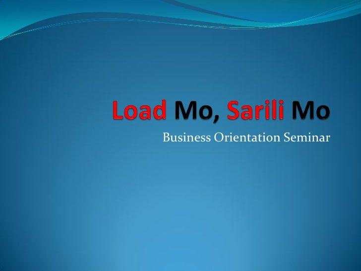 Business Orientation Seminar