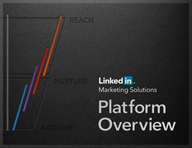 LinkedIn Marketing Solutions Platform Overview | 1