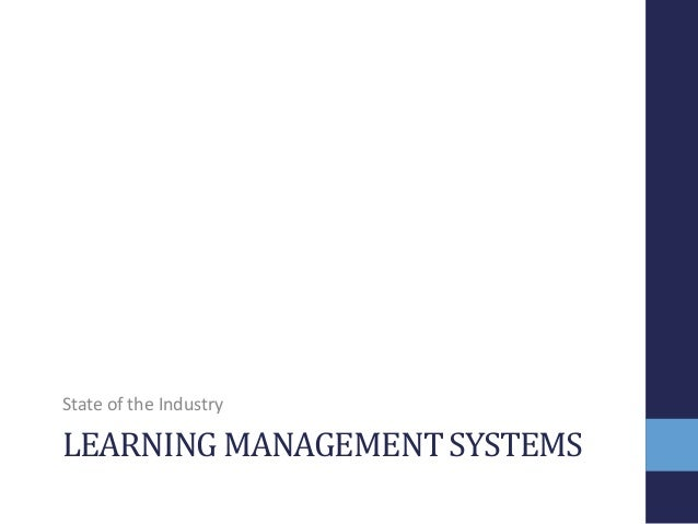 JSB Market Research: Learning Management Systems Essay