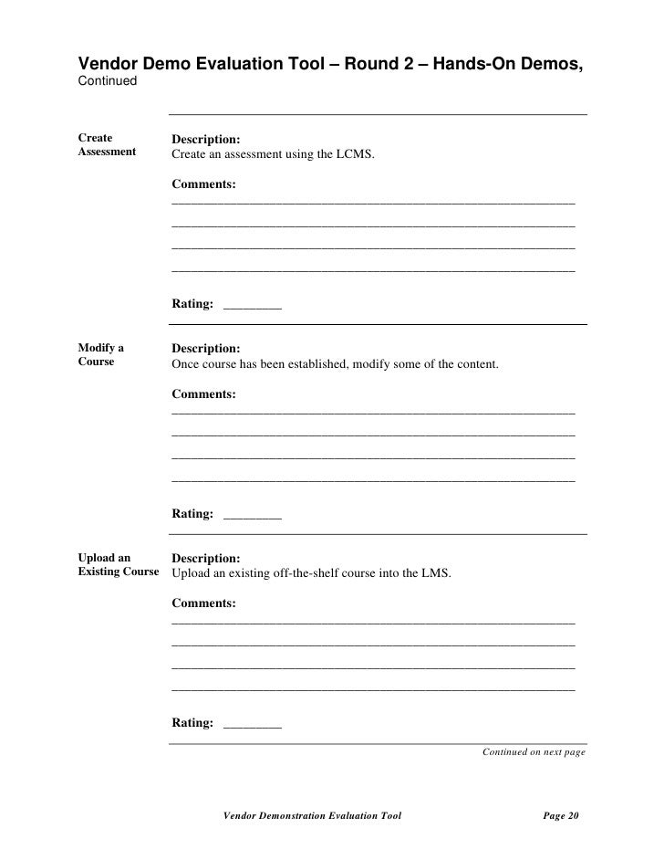 Sample Course Evaluation Forms. Sample Course Evaluation Form - 9+