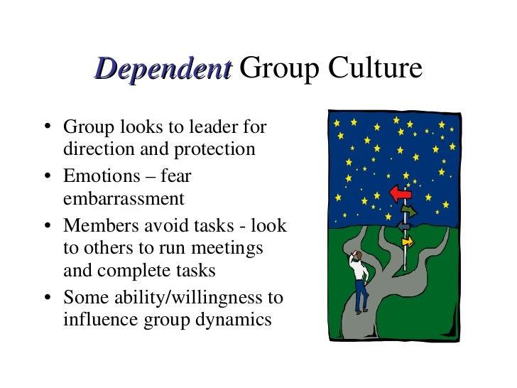 <ul><li>Group looks to leader for direction and protection </li></ul><ul><li>Emotions – fear embarrassment </li></ul><ul><...