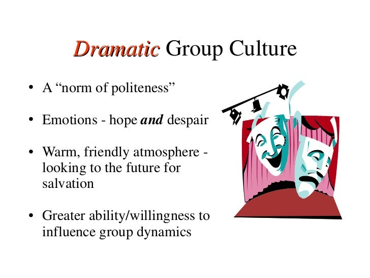 """<ul><li>A  """"norm of politeness"""" </li></ul><ul><li>Emotions - hope  and  despair </li></ul><ul><li>Warm, friendly atmospher..."""