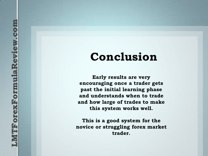 Lmt forex trading system