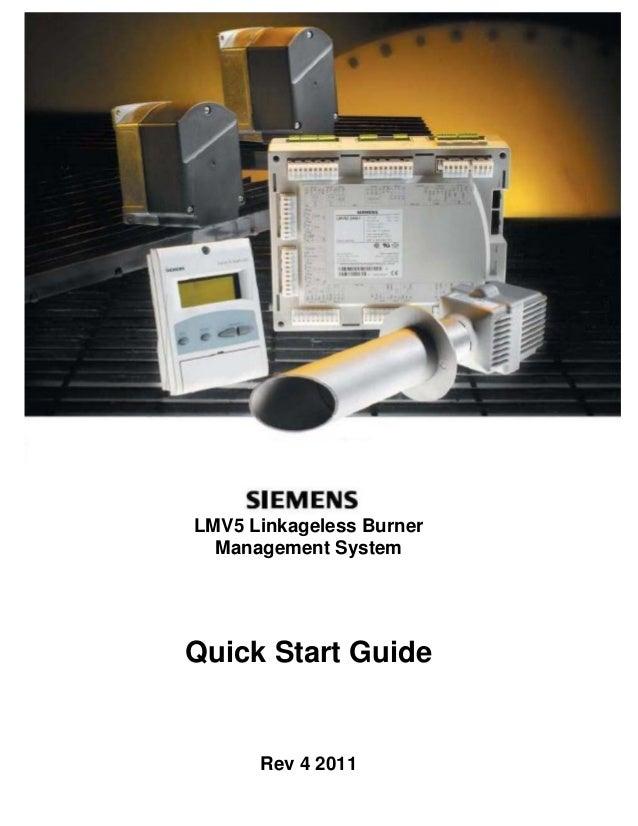 LMV5 Linkageless Burner Management System Quick Start