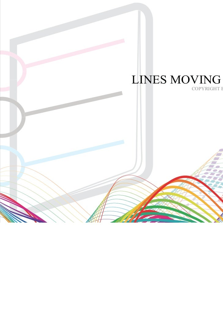 LINESMOVINGLINES MOVING VIS MANUAL        COPYRIGHT BY COLINES MOVING Co., Ldt