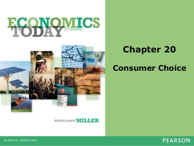 Chapter 20 Consumer Choice