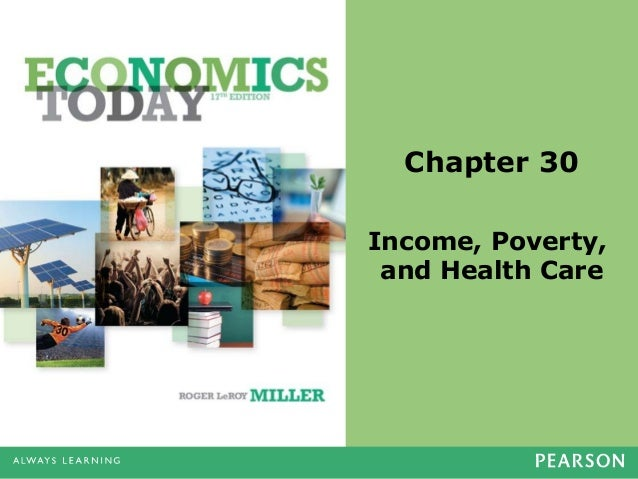 Chapter 30 Income, Poverty, and Health Care