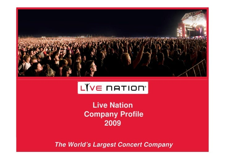 live nation profile Jared smith is pres:ticketmaster north america at live nation entertainment inc see jared smith's compensation, career history, education, & memberships.