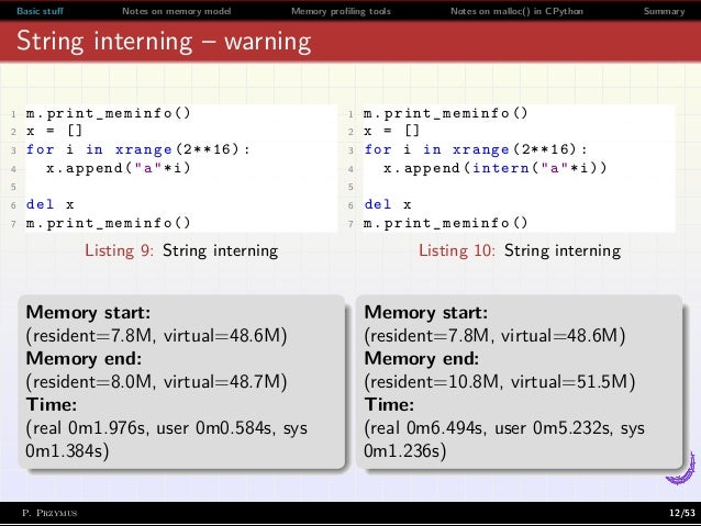 Everything You Always Wanted to Know About Memory in Python