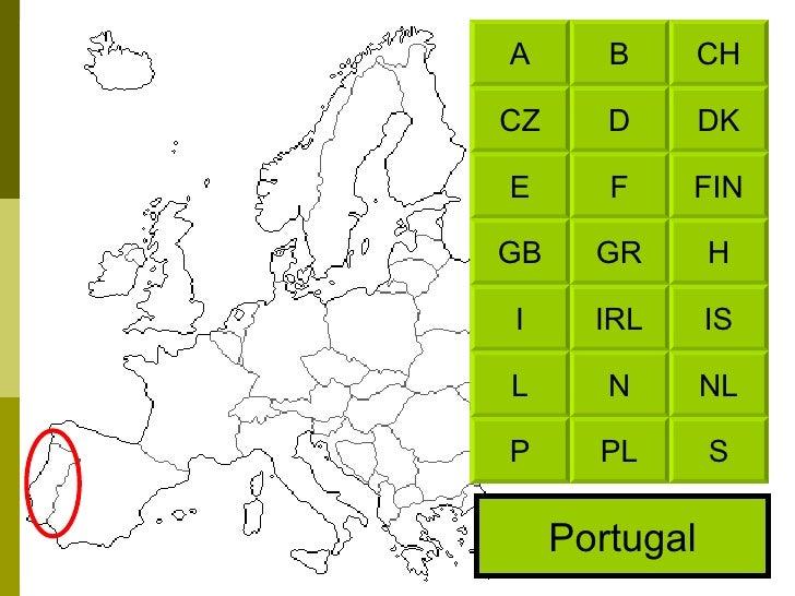 Portugal CH B DK D FIN F H GR IS IRL NL N S PL A CZ E GB I L P