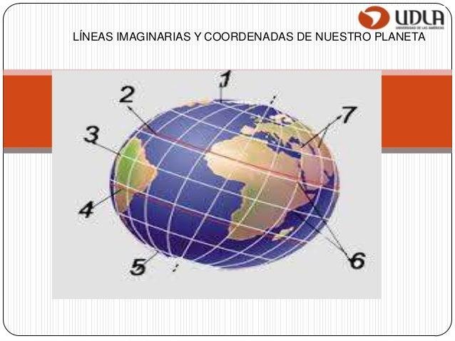 LÍNEAS IMAGINARIAS Y COORDENADAS DE NUESTRO PLANETA