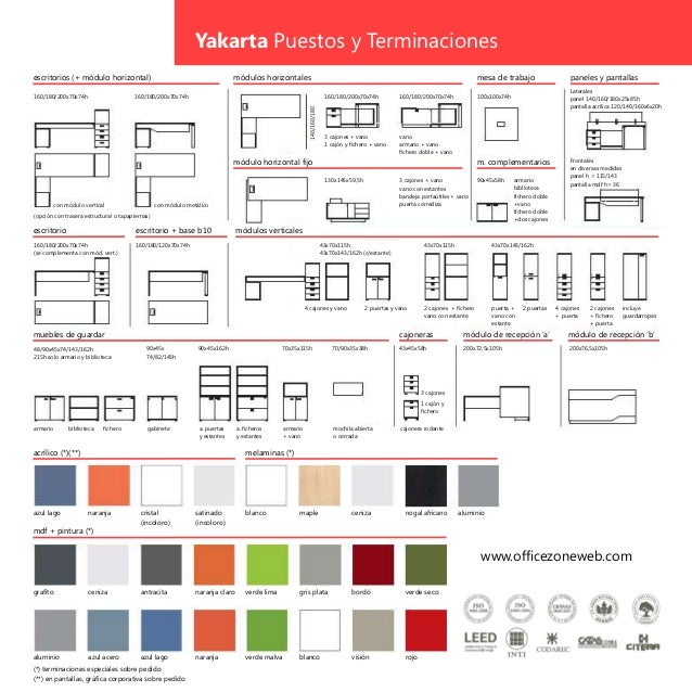Sistemas de oficinas yakarta for Modulos de trabajo para oficina