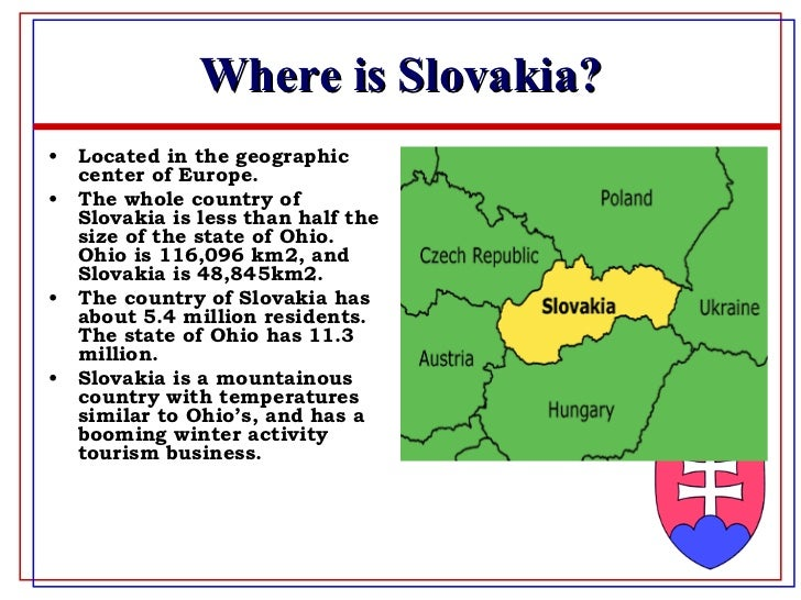 Lng Week Five Group Assignment The Slovak Republic - Where is slovakia