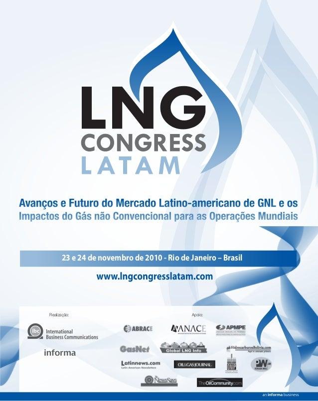 Realização: Apoio: 23 e 24 de novembro de 2010 - Rio de Janeiro – Brasil