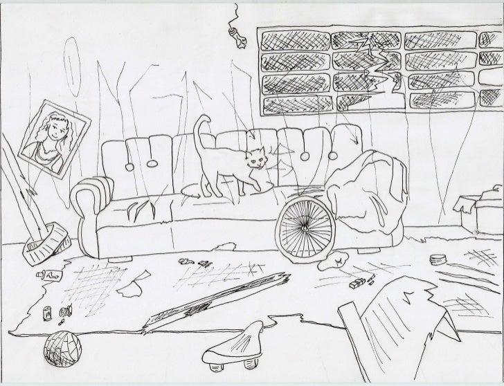 Ilustrações para projeto Língua de Gato