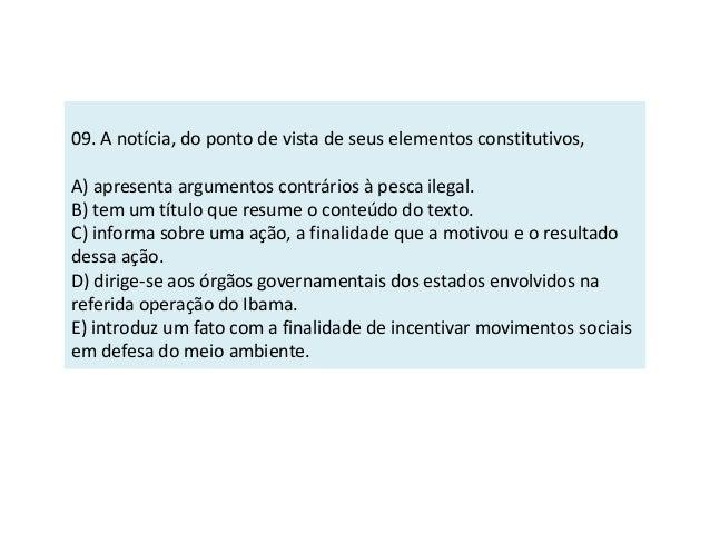 Leia o texto abaixo e responda à questão.  São Paulo busca soluções para evitar colapso socioambiental  Debates realizados...