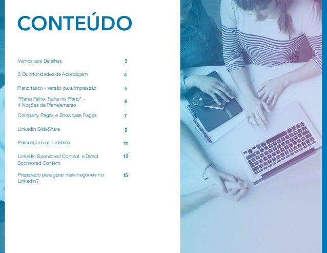 Plano tático de marketing de conteúdo no LinkedIn Slide 2