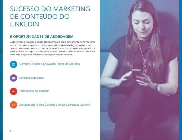 Plano tático de marketing de conteúdo no LinkedIn Slide 4