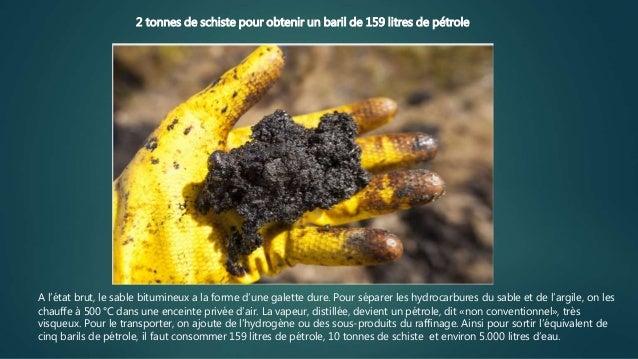 L'énorme désastre écologique du pétrole bitumeux Slide 3