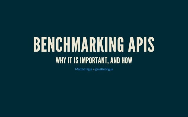 Benchmarking APIs - LNUG February 2014