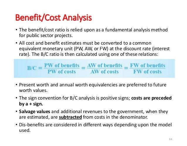 BENEFIT COST RATIO METHOD DOWNLOAD