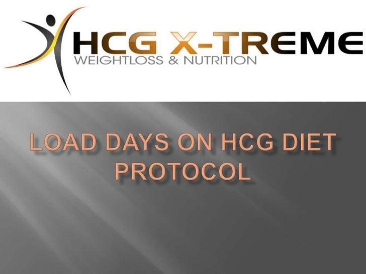 load days on hcg diet protocol