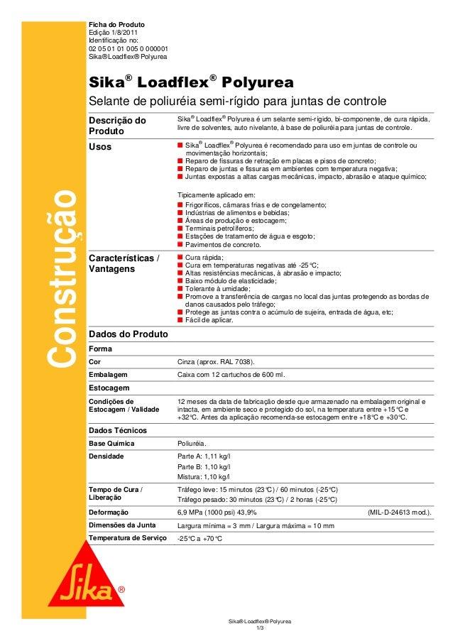 Ficha do Produto             Edição 1/8/2011             Identificação no:             02 05 01 01 005 0 000001           ...