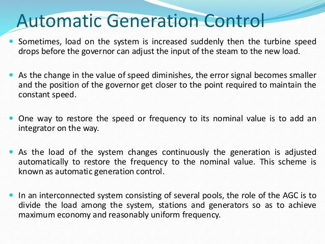 thesis on load frequency control Load frequency control topic: load frequency control final project – electrical engineering – undergraduate simulation study.