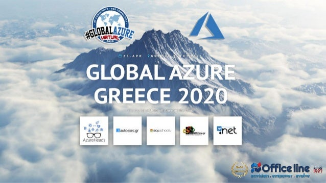 Loading Data into Azure SQL DW (Synapse Analytics) Global Azure Greece 2020 Apr 25, 2020 Presenter: Antonios Chatzipavlis