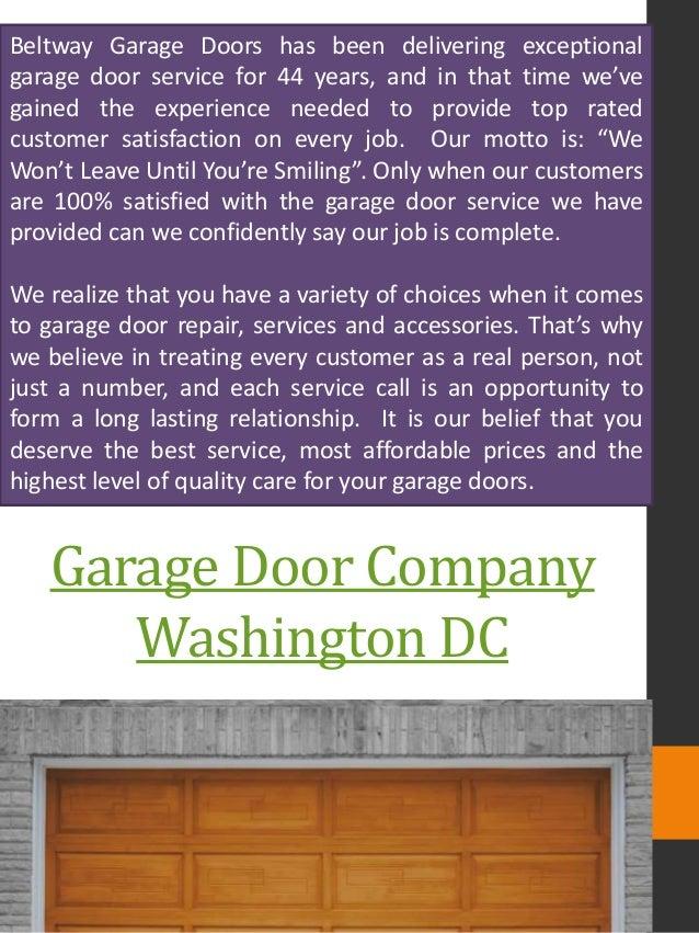 Garage Door Company Washington DC ...