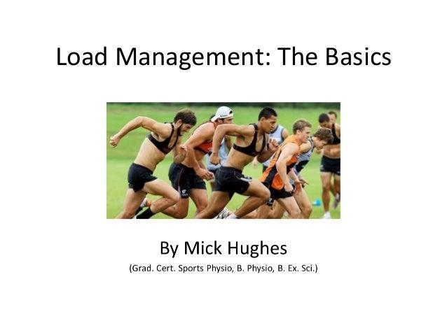 Load Management: The Basics