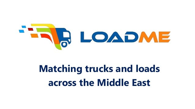 Matching trucks and loads across the Middle East