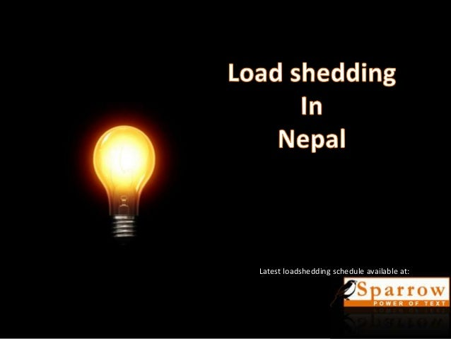 Loadshedding In Nepal Increased