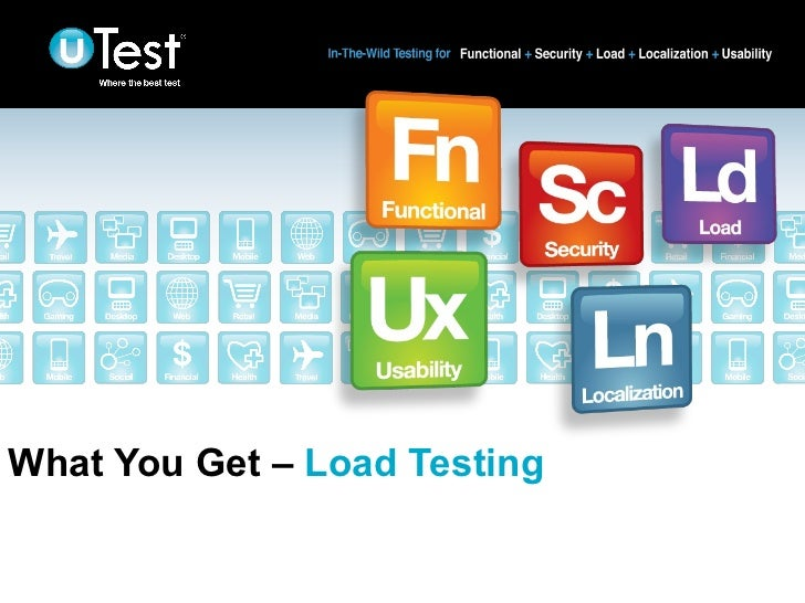 What You Get – Load Testing                              |