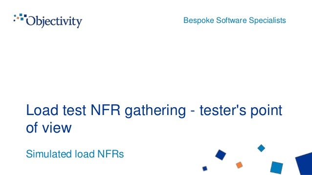Load test nfr gathering