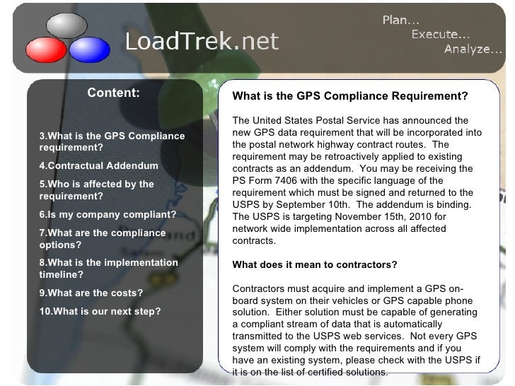 This is a test text - bullet 1 - bullet 2 <ul><li>Content: </li></ul><ul><li>What is the GPS Compliance requirement? </li>...