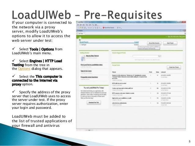 LoadUI web performance testing tool