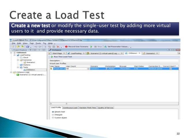 Load ui web Load Testing Open source Performance Testing tool Learn L…