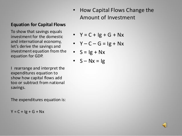 Savings investment net capital out flow formula templeton emerging markets investment trust discount